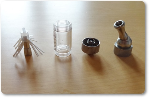 Innokin-Kaffeemaschine, auseinandergenommen, gereinigt, neu bestückt.
